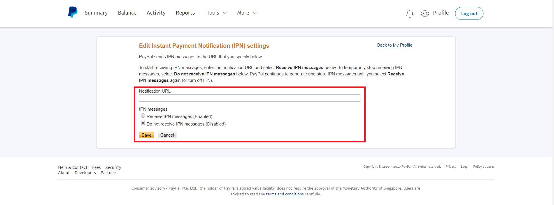 Paypal: How to Activate Account? « eCommerce store