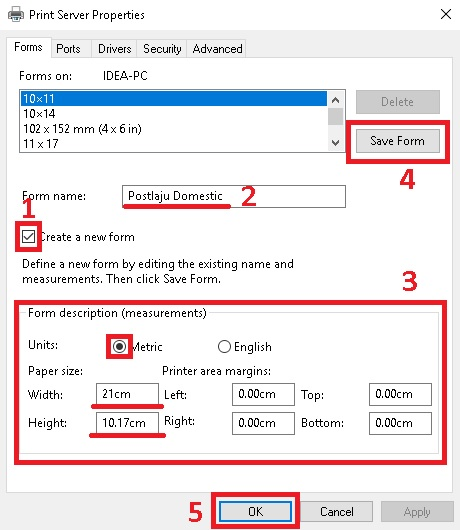 How To Set Printer For Consignment Note  Ecommerce Store