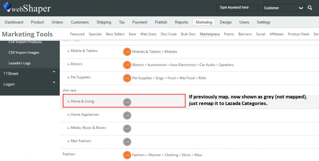 remap-webshaper-to-lazada-categories